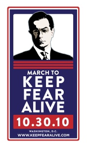 March to Keep Fear Alive poster