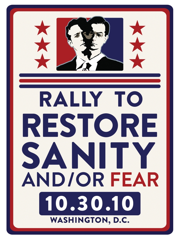Rally to Restore Sanity and/or Fear poster