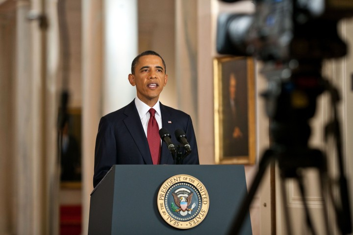 East Room press conference, 1 May 2011