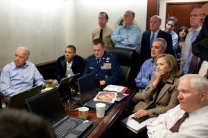 Watching from the Situation Room