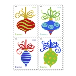 These are the stamps we used to mail our holiday cards.
