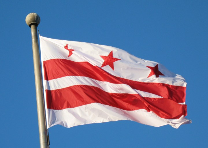 I'll miss D.C.'s flag, too. It's better than New York's (both the state and the city).