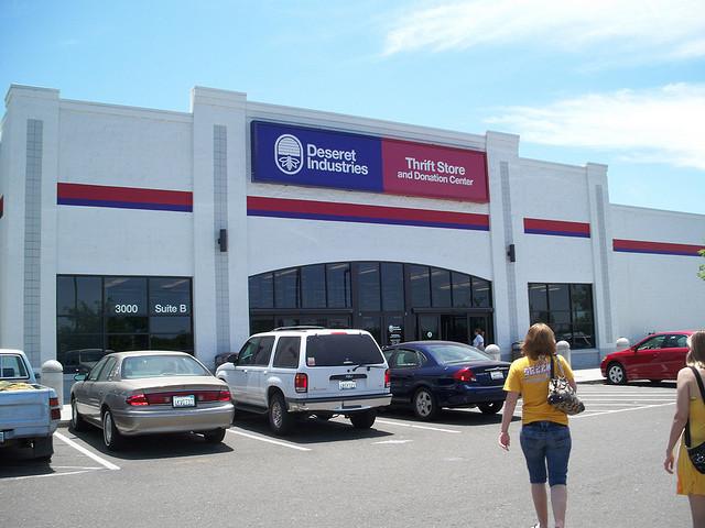 A Deseret Industries thrift store in Sacramento.