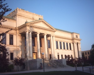 The John R. Park Memorial Building, home to the University of Utah's central administration.