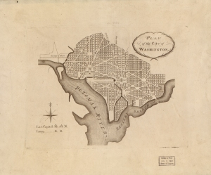 Pierre Charles L'Enfant's plan for Washington, D.C.