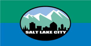 This is the new flag that was eventually adopted by the Salt Lake City council on 4 October 2006.