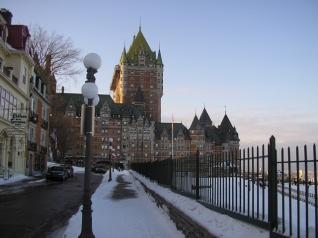 The Château Frontenac in Québec City