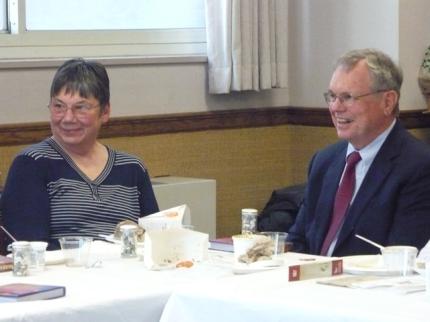 Susan's parents, Mary and David
