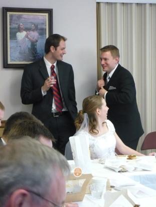 Matt H., Susan, and Dustin