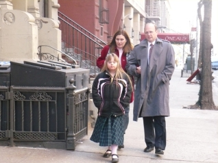 Amanda, Tania, and Randy on West 65th Street