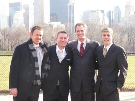 Dale, Dustin, Matt H., and Matthew B.