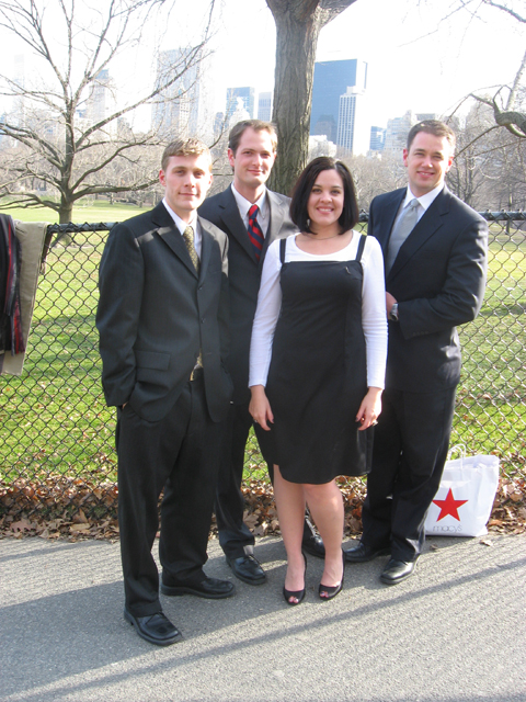 Matthew B., Matt H., Rebecca, and Dale