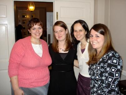 Stephanie, Megan, Andrada, and Lindsay