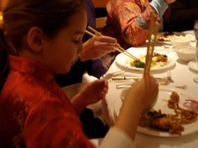 C.H.G. at dinner