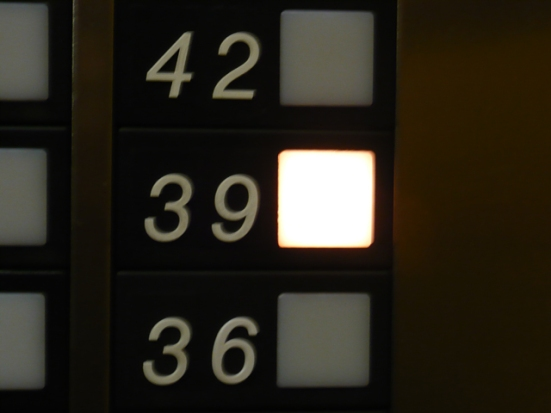 To the 39th floor