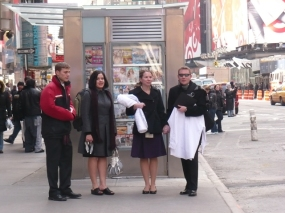 Matthew B., Rebecca, Susan, and Dustin