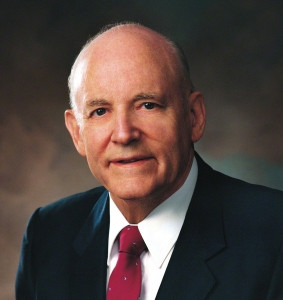Howard W. Hunter served as 14th president of The Church of Jesus Christ of Latter-day Saints. His tenure, 5 June 1994–3 March 1995, is currently the shortest in Church history.