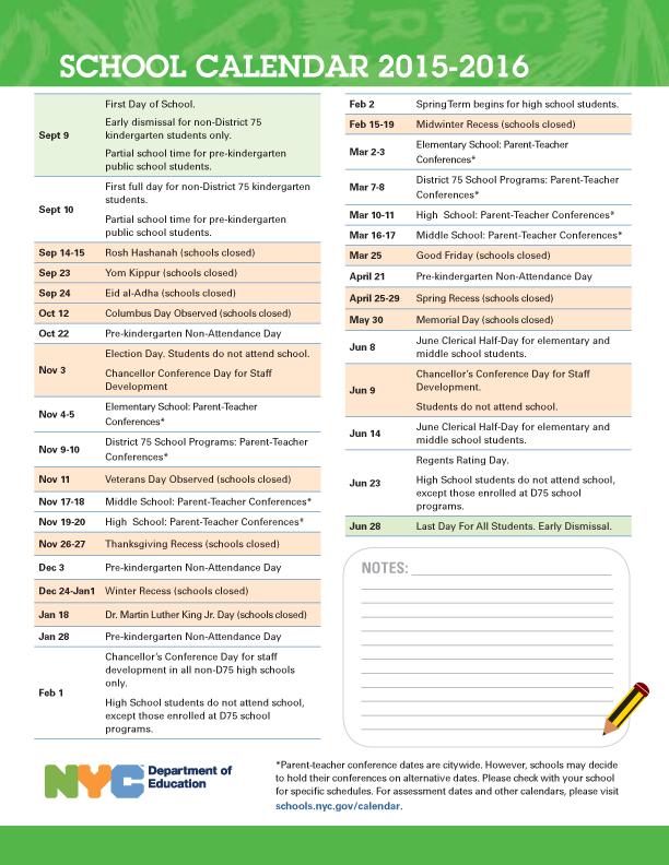 Nyc Public School Calendar New York City public schools calendar in Google Calendar – Dialann