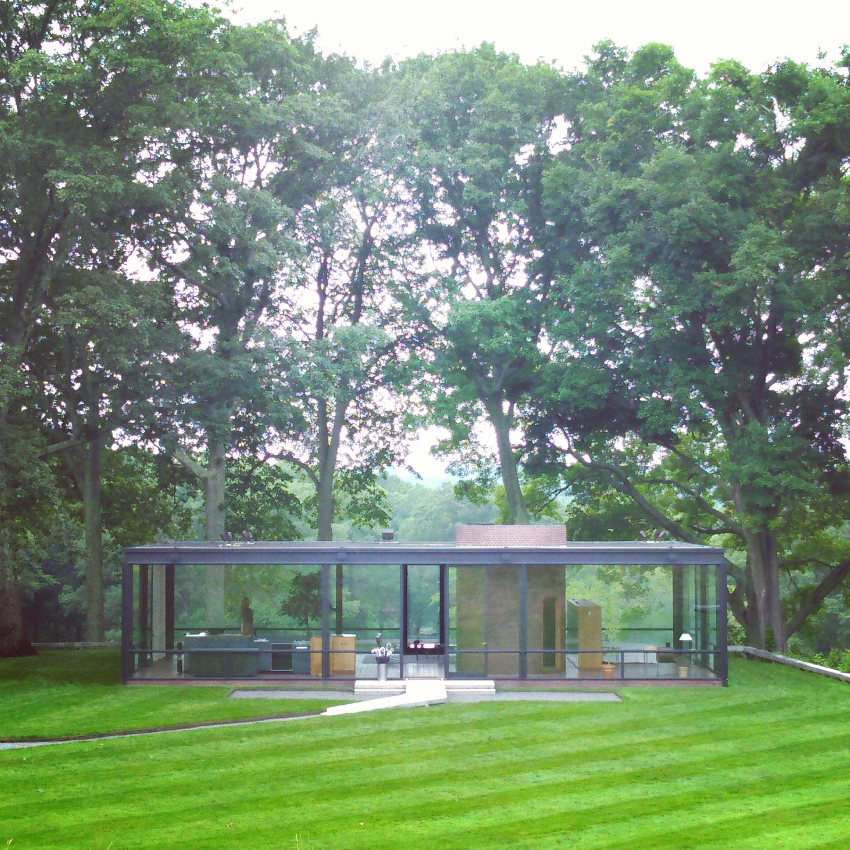 The Glass House By Philip Johnson New Canaan Connecticut Dialann