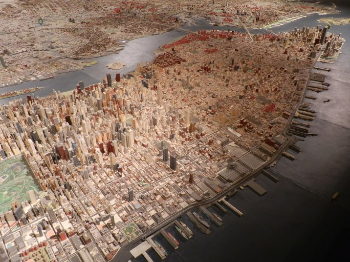 Panorama of the City of New York