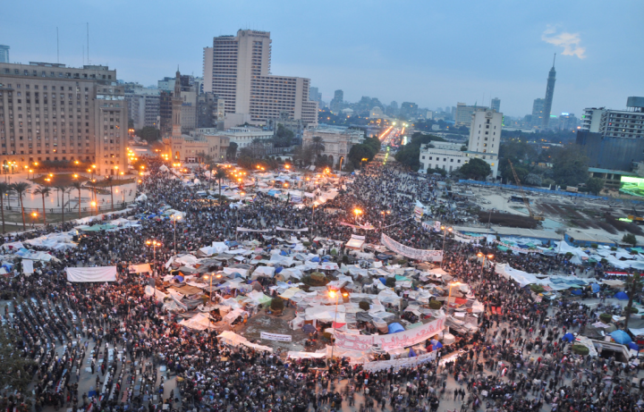 Tahrir Square, 9 February 2011