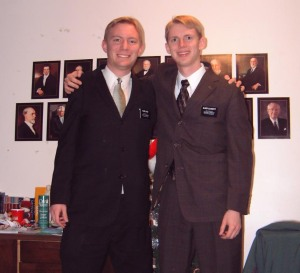 Elder Joyce and Elder Glassett