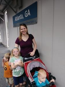 Arrival at Atlanta, 2 August 2017