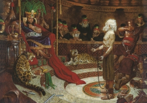 Abinadi Appearing Before King Noah by Arnold Friberg
