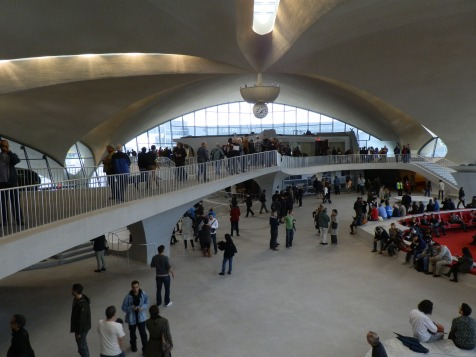 Perhaps no airport structure in the world evokes the sense of flight and the wonder of technology more than the graceful, sweeping curves of Eero Saarinen's TWA Flight Center.